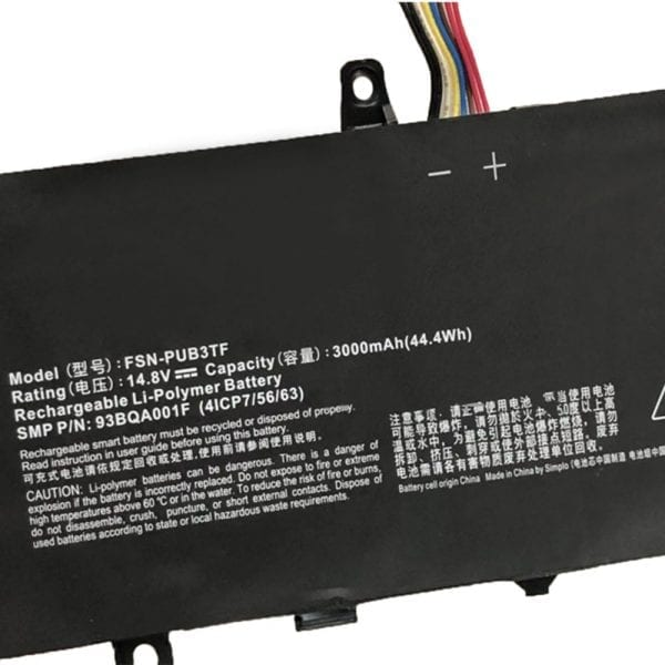 Original laptop battery for TongFang U49L X30 U49F1 U410 U430 U49F,X1-I3401045002
