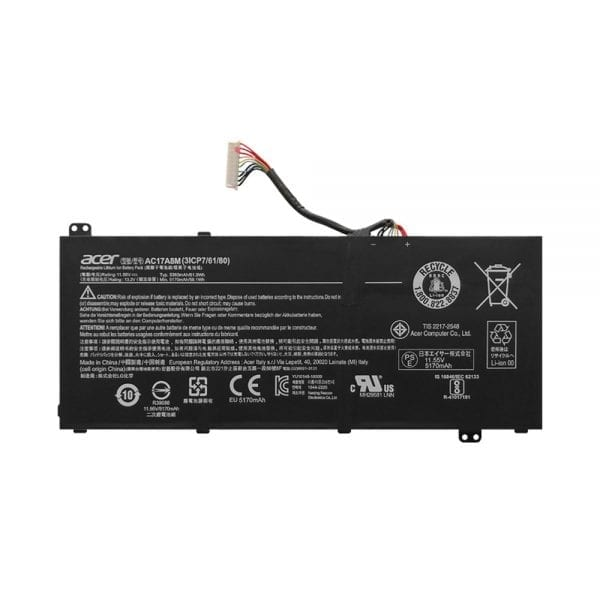 Original laptop battery for ACER TMX314-51-M,TMX314-51-MG,TMX3310-M,TMX3410-MG