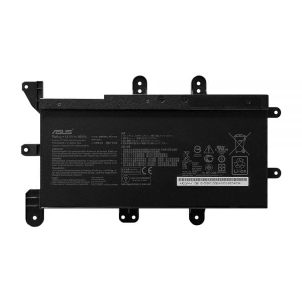 Original laptop battery for ASUS ROG G703,G703GX,G7CX,A42LK4H