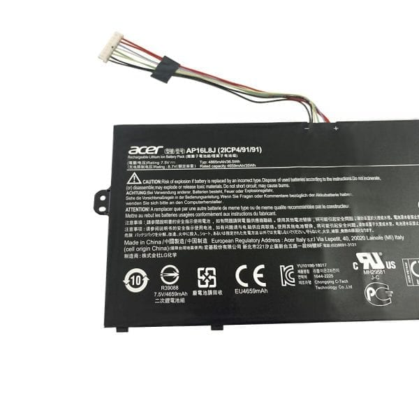Original laptop battery for Acer Chromebook Spin 311 CP311