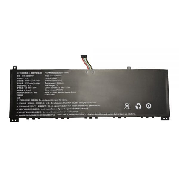 Original laptop battery for GY5482132PHV