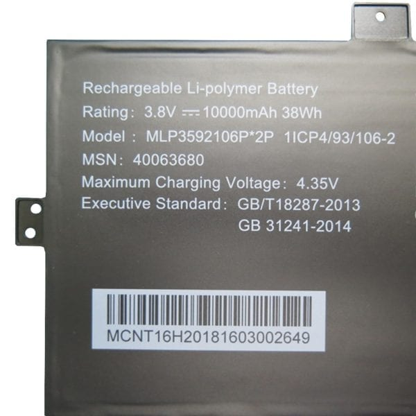 Original laptop battery for AKOYA E2228T/KX