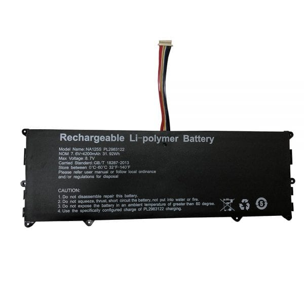 Original laptop battery for NuVision Encite Book 12 Plus